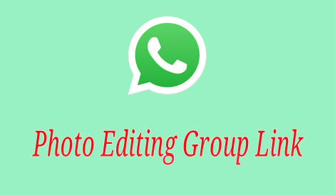 Photo Editing Group Link