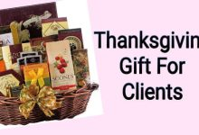 thanksgiving day gift for clients